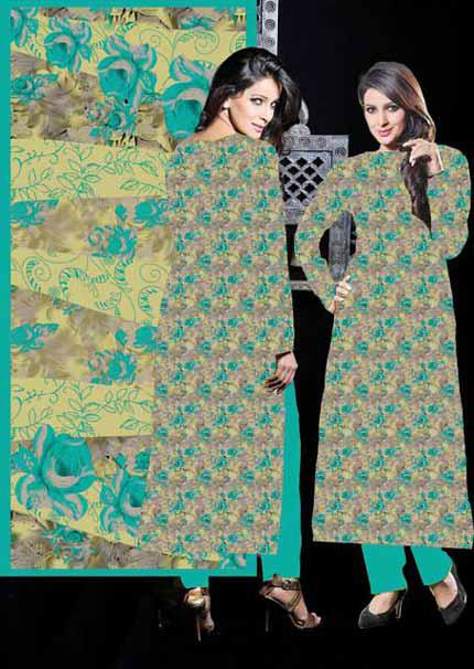 Dawood Classic Cotton Dresses 2012-13 for Women & Girls with Deeda Zaib Patterns