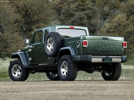 Possible Jeep Pick Up Coming Soon
