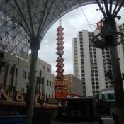 Casino on Fremont St  Las Vegas NV