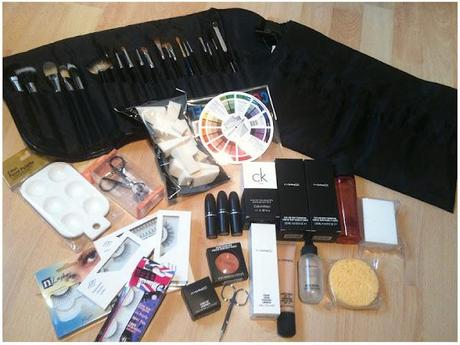 What's in my make-up kit so far....