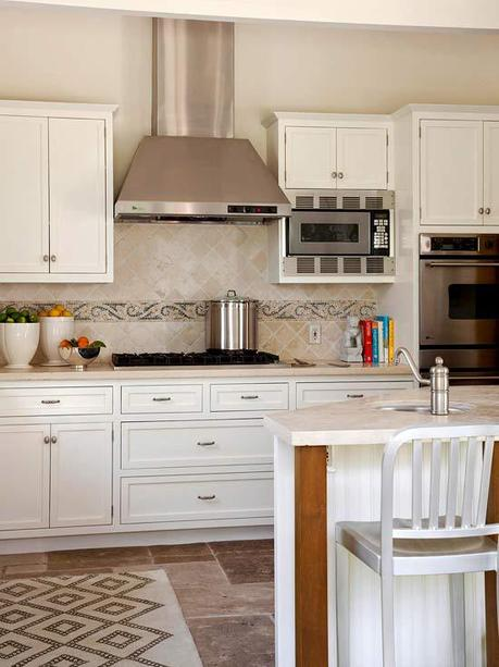 Things to consider when choosing a kitchen backsplash paperblog Kitchen backsplash ideas bhg