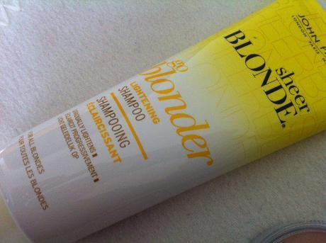 A review of John Frieda's go blonder lightening Shampoo