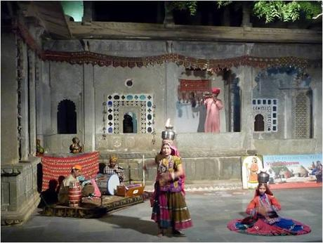 Dance at Bagore Ki Haveli, Udaipur