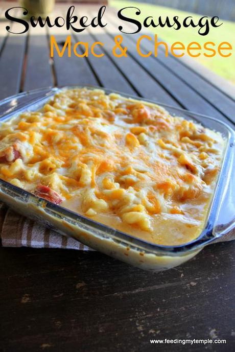 Smoked Sausage Mac and Cheese - Paperblog
