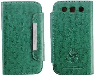 Commander Leather case for Galaxy S3