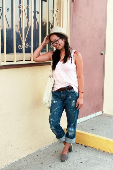 Laid Back in Boyfriend Jeans
