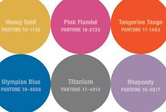 Color Palette for Fashionable Fall 2012 - (Decided by