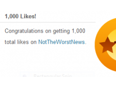 "Worst News Just 1,000 ""Likes"" WordPress! Thank You! Here's Worse Things!"