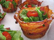 Bacon Cups Chipolte Ranch Dressing