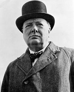 winston Churchill making bowties awesome