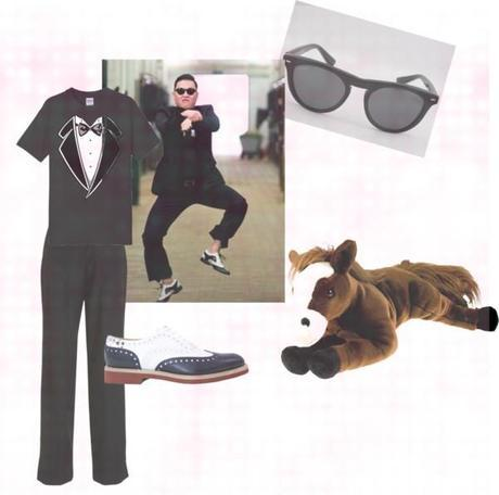 Gangnam Style Halloween Costume