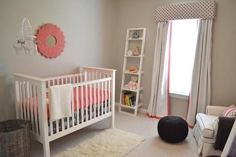 Real Nursery Tour- Contemporary Coral