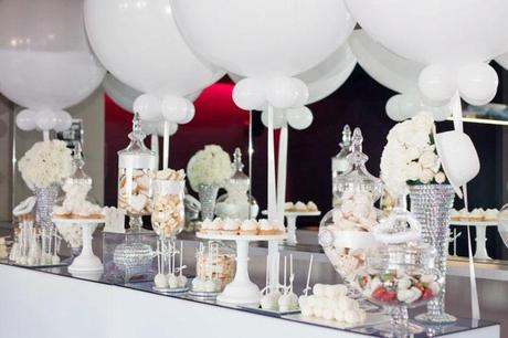white party by decor by yael event planner party stylist