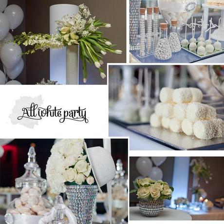 White party by decor by yael event planner party stylist for All white party decoration