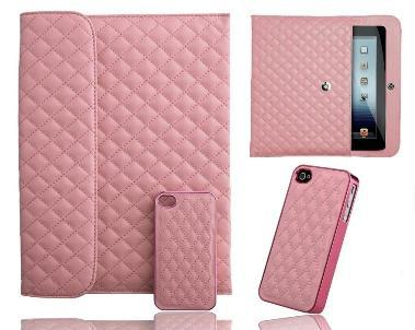 Naztech Paris Combo iPad 3, iPad 2 Case with iPhone 4, 4S cover