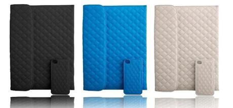 Naztech Paris Combo iPad Case with iPhone cover