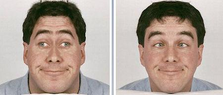Would You Recognize Yourself With A Completely Symmetrical Face?