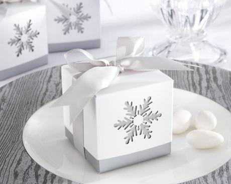 Top Favor Ideas for a Winter Wedding