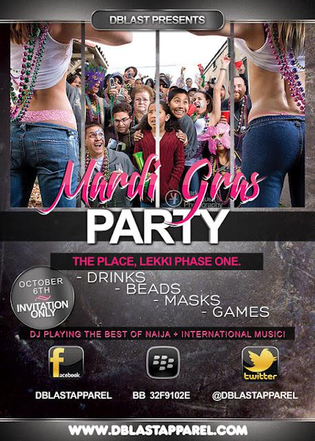 Mardi Gras Party 2012