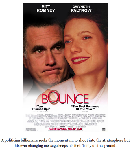 Romantic comedies starring Mitt Romney