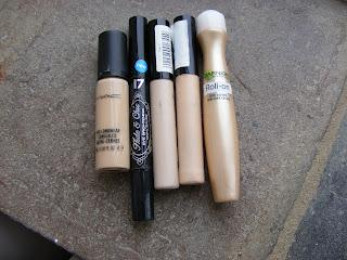 Makeup Collection #3 Foundation/Concealer/Powder/Face Primer