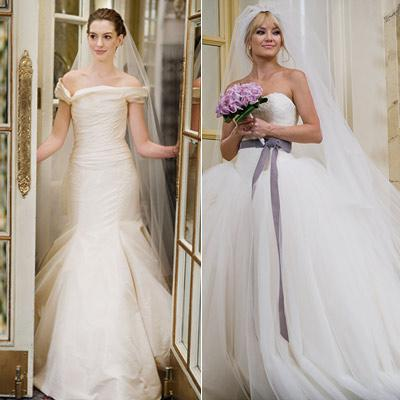 Anne Hathaway Wedding.Bride Wars Anne Hathaway Wedding Gowns World