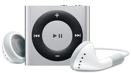 Apple iPod nano 6th Gen Vs Apple iPod shuffle 4th Gen Vs  Apple iPod touch 4th Gen