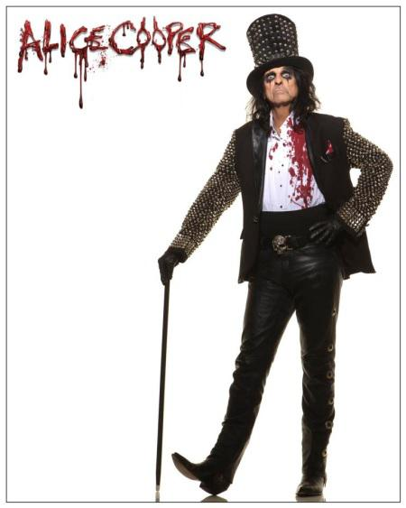 Alice Cooper On Tour In The Uk Germany Switzerland And North