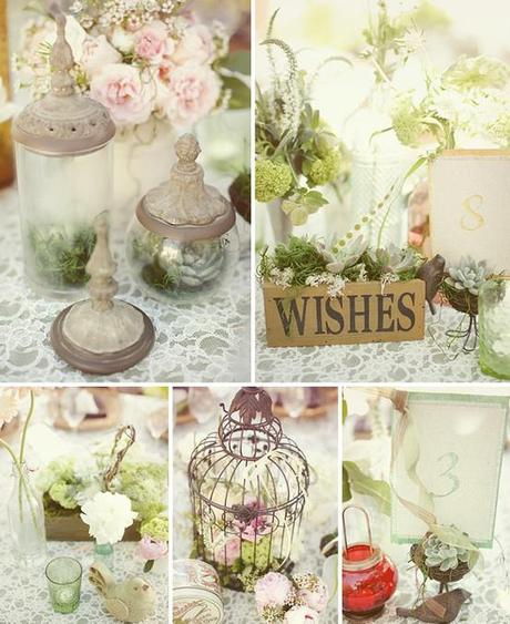 Beautiful Wedding Inspirations - Shabby Chic