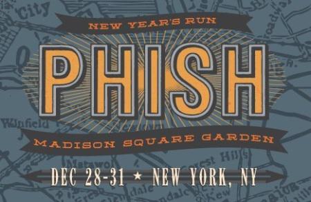 Phish new year 39 s run madison square garden nyc paperblog for Phish madison square garden tickets