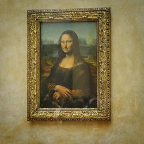 THE LOUVRE, TO VIEW THE PORTRAIT OF MY FAMOUS ANCESTOR