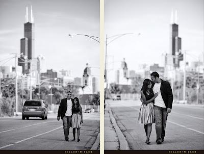 Chicago Landmarks for Engagement Photos