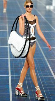 Make a Statement with Chanel's Hula Hoop Beach Bag