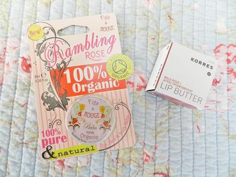 Korres + Figs & Rouge Rose Lip Balms