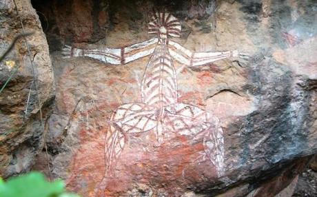Nourlangie Rock Art Site in the Northern Territory, Australia