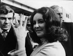 Elizabeth Taylor's Jewelry Collection shown in Liz and Dick