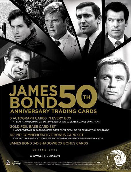 happy th birthday anniversary sir james bond   paperblog, Birthday card