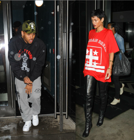 Chris Brown, Rihanna Back Together?