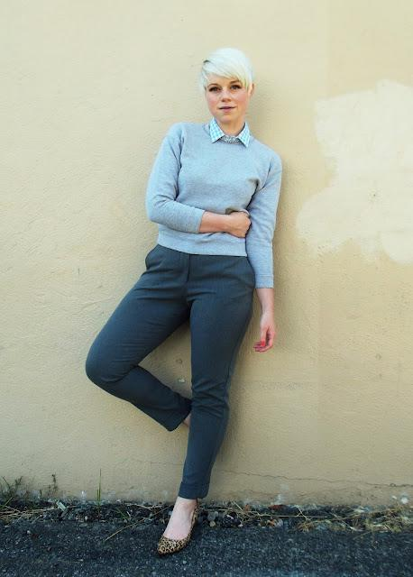 how to style, fall fashion, what i wore, casual style, sport luxe, pixie cut, style, layering