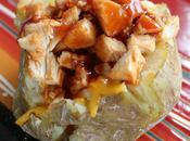 Chopped Chicken Baked Potatoes