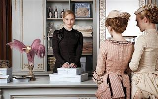 NEW (COSTUME) DRAMA SERIES ON TV: PARADE'S END, THE PARADISE, DOWNTON ABBEY THREE  AND AN AMERICAN SHERLOCK, ELEMENTARY.