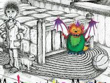 """Chase Monsters Your Kids Room with """"Marlow Monster"""""""
