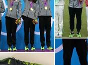 Phelps' Shoes Look Like They Were Dipped Snot