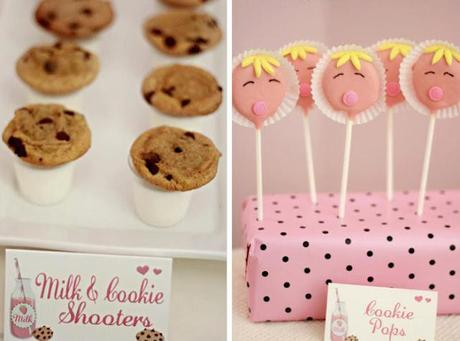 Milk and Cookies Baby Shower by Takes the Cake Decorating