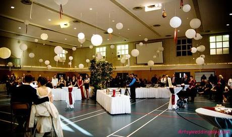 Afternoon Wedding Reception Ideas in Winter