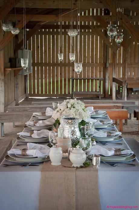 Afternoon Wedding Reception Ideas in Winter - Paperblog