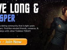 """Finally, Online Dating-site """"Trekkies"""""""