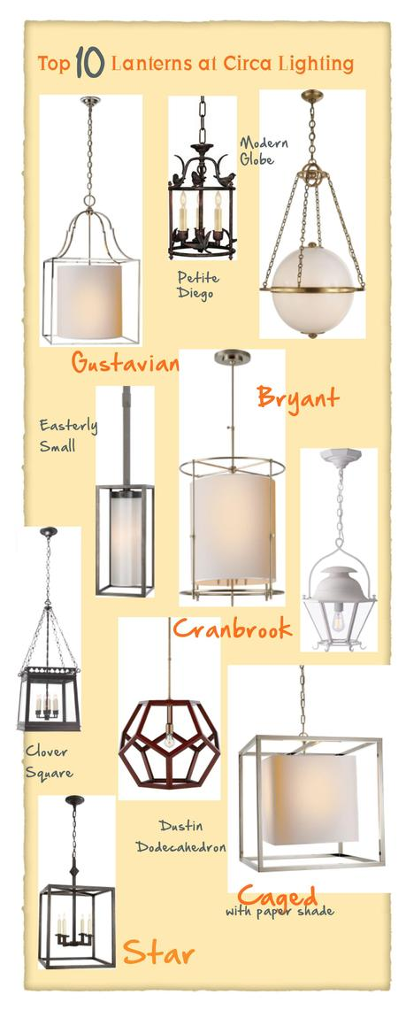 My Top 10: Entry Hall Lanterns
