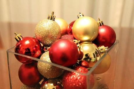 Ornament Centerpieces