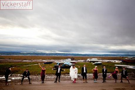 wedding by the sea Vickerstaff Photography